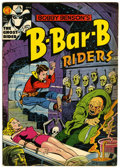 Golden Age (1938-1955):Horror, Bobby Benson's B-Bar-B Riders #14 (Magazine Enterprises, 1952)Condition: FN/VF....