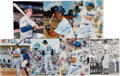 Autographs:Photos, Los Angeles Dodgers Signed Photographs Lot of 7. ...