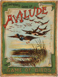 "Non-Sport Cards:Sets, 1890's McLoughlin Bros. ""Avilude"" or ""Game of Birds"" Card Game withBox...."