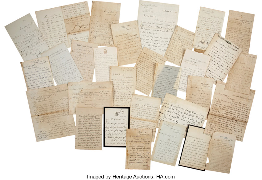 samuel wylie crawford post civil war archive of thirty letters