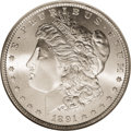 Morgan Dollars, 1891-S $1 MS67 NGC....