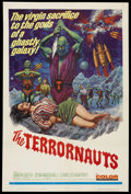 """Movie Posters:Science Fiction, The Terrornauts (Embassy Pictures, 1967). One Sheet (27"""" X 41"""").Science Fiction. Starring Simon Oates, Zena Marshall, Charl..."""