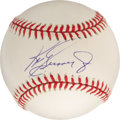 Autographs:Baseballs, Ken Griffey, Jr, Single Signed Baseball. Junior is in the midst ofyet another productive season as he continues to hit for ...