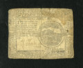 Colonial Notes:Continental Congress Issues, Continental Currency February 26, 1777 $4 Fine. The upper rightcorner holds a moisture spot....
