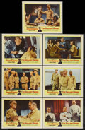"""Movie Posters:War, The Gallant Hours (United Artists, 1960). Lobby Cards (7) (11"""" X14""""). War. Starring James Cagney, Dennis Weaver, Ward Coste...(Total: 7)"""
