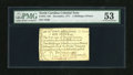 Colonial Notes:North Carolina, North Carolina December, 1771 2s/6d PMG About Uncirculated 53. Thisdenomination comes with two different vignettes, the hou...