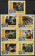 """Movie Posters:War, D-Day The Sixth of June (20th Century Fox, 1956). Lobby Cards (7)(11"""" X 14""""). War. Starring Robert Taylor, Richard Todd, Da...(Total: 7)"""