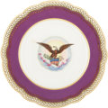 Political:Presidential Relics, [Abraham Lincoln] White House Dinner Plate from the Lincoln Service....