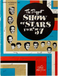 Music Memorabilia:Memorabilia, Buddy Holly Related - Biggest Show of Stars 1957 Tour Book....