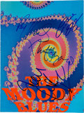 Music Memorabilia:Autographs and Signed Items, The Moody Blues Band Signed Tour Book....