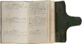 Autographs:Military Figures, Union Soldier's Diary kept by Joseph Perkins of the 10th NewHampshire Volunteers....