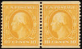 Stamps, 10c Yellow, Horizontal Coil (356),...