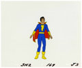Animation Art:Production Cel, The Kid Superpower Hour with Shazam! Animation ProductionCel Original Art (Filmation, 1981)....