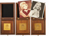Movie/TV Memorabilia:Awards, Edie Adams' Headliner Plaques with Photos.... (Total: 5 )