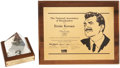 Movie/TV Memorabilia:Awards, Ernie Kovacs' and Edie Adams' Awards.... (Total: 2 )