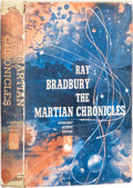 Books:First Editions, Ray Bradbury. The Martian Chronicles. Garden City:Doubleday, 1950.. First edition. Octavo. 222 pages.. Publ...