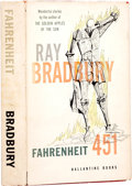 Books:First Editions, Ray Bradbury. Fahrenheit 451. New York: Ballantine Books,[1953].. First edition. Octavo. 199 pages.. Publisher'...