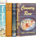 Books:First Editions, John Steinbeck. Four Books, including: Cup of Gold. NewYork: Robert M. McBride, 1929. First edition, first issue. ...(Total: 4 Items)