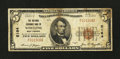 National Bank Notes:West Virginia, Wheeling, WV - $5 1929 Ty. 1 The National Exchange Bank Ch. # 5164. ...