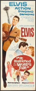 "Movie Posters:Elvis Presley, It Happened at the World's Fair (MGM, 1963). Insert (14"" X 36"").Elvis Presley.. ..."