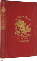 Books:First Editions, Charles Dickens. The Battle of Life. A Love Story. London:Bradbury & Evans, 1846.. First edition of the Dicke...