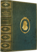 Books:First Editions, Charles Dickens. The Posthumous Papers of the Pickwick Club.London: Chapman and Hall, 1837.. First edition,...