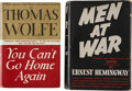 Books:Fiction, Two First Editions from Great Twentieth-Century Authors, including:Ernest Hemingway, editor. Men at War. New Yo... (Total: 2Items)