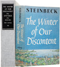 Books:Signed Editions, John Steinbeck. The Winter of Our Discontent. New York: TheViking Press, 1961....