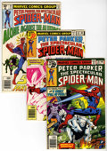 Modern Age (1980-Present):Superhero, Spectacular Spider-Man Box Lot (Marvel, 1978-94) Condition: Average NM+....