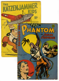 Feature Books #41 and 53 Group (David McKay, 1944-46).... (Total: 2 Comic Books)