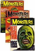 Magazines:Horror, Famous Monsters of Filmland - Short Box Group (Warren, 1966-83) Condition: Average FN+....