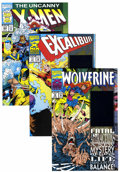 Modern Age (1980-Present):Miscellaneous, Marvel Modern Age - Short Box Group (Marvel, 1980s-2000) Condition: Average NM+....