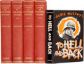 Books:First Editions, Two Texas-Related Titles, One Inscribed by Audie Murphy, including:Edward Mandell House & Charles Seymour [editor]. ... (Total: 5Items)