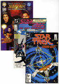 Modern Age (1980-Present):Science Fiction, Star Trek Related Titles Long Box Group (Various, 1980s-90s)Condition: Average NM+....