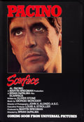 "Movie Posters:Crime, Scarface (Universal, 1983). One Sheet (27"" X 40"") Advance. Crime....."