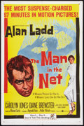 "Movie Posters:Mystery, The Man in the Net (United Artists, 1959). One Sheet (27"" X 41"").Mystery.. ..."