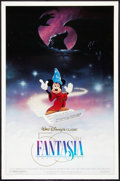"Movie Posters:Animated, Fantasia (Buena Vista, R-1990). One Sheet (27"" X 41""). Animated....."