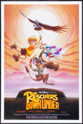 "Movie Posters:Animated, The Rescuers Down Under (Buena Vista, 1990). One Sheet (27"" X 41"") DS . Animated.. ..."