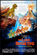 "Movie Posters:Animated, The Land Before Time Lot (Universal, 1988). One Sheets (4) (27"" X40"") DS Advances and Regular. Animated.. ... (Total: 4 Items)"