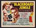 """Movie Posters:Drama, Blackboard Jungle (MGM, 1955). Title Lobby Card and Lobby Cards (4) (11"""" X 14""""). Drama.. ... (Total: 5 Items)"""