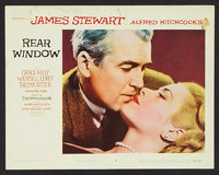 "Rear Window (Paramount, 1954). Lobby Cards (6) (11"" X 14""). Hitchcock. ... (Total: 6 Items)"