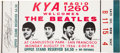 Music Memorabilia:Tickets, Beatles Candlestick Park Concert Ticket....