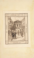 Books:First Editions, Charles Dickens. The Cricket on the Hearth. A Fairy Taleof Home. London: Printed and Published for the Author, ...