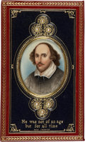 Books:Fiction, [Cosway-Style Binding]. William Shakespeare. The Poems ofShakespeare. London: William Pickering, 1837.. Octavo. l...