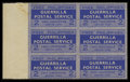 """Stamps, 1943, 2c Blue, """"Free Philippines Guerrilla Postal Service""""..."""