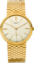 Timepieces:Wristwatch, Audemars Piguet Gent's Gold Wristwatch, circa 1960's. ...