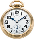 Timepieces:Pocket (post 1900), Illinois 161A Sixty Hour Elinvar Bunn Special, circa 1934. ...
