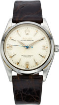 Timepieces:Wristwatch, Rolex Vintage Ref. 6564 Steel Wristwatch, circa 1950's. ...