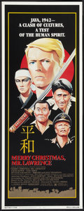 "Movie Posters:War, Merry Christmas, Mr. Lawrence (Universal, 1983). Insert (14"" X36""). War.. ..."
