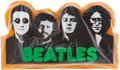 Music Memorabilia:Memorabilia, The Beatles Sealed Large Styrofoam Display (Capitol Records, 1974)....